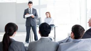 Presenting, Presentations